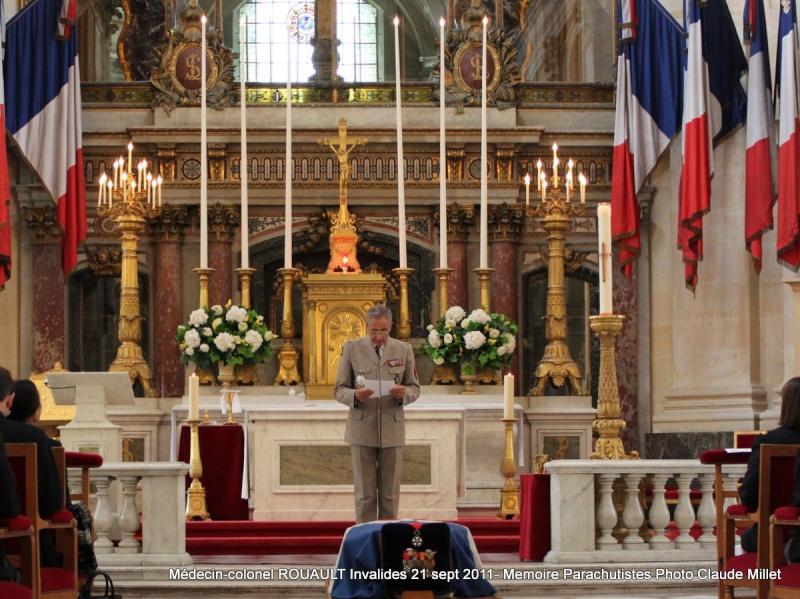 ROUAULT Pierre Médecin-colonel - 5e BPV-8e BPC - 21 septembre 2011 - Invalides cérémonie religieuse Img_0112