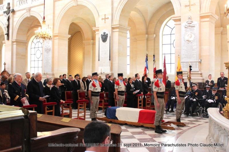 ROUAULT Pierre Médecin-colonel - 5e BPV-8e BPC - 21 septembre 2011 - Invalides cérémonie religieuse Img_0113