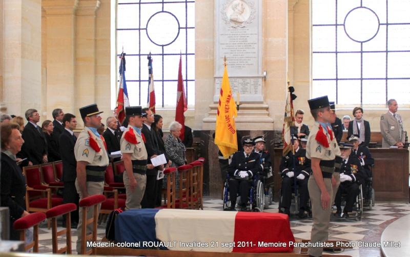 ROUAULT Pierre Médecin-colonel - 5e BPV-8e BPC - 21 septembre 2011 - Invalides cérémonie religieuse Img_0114