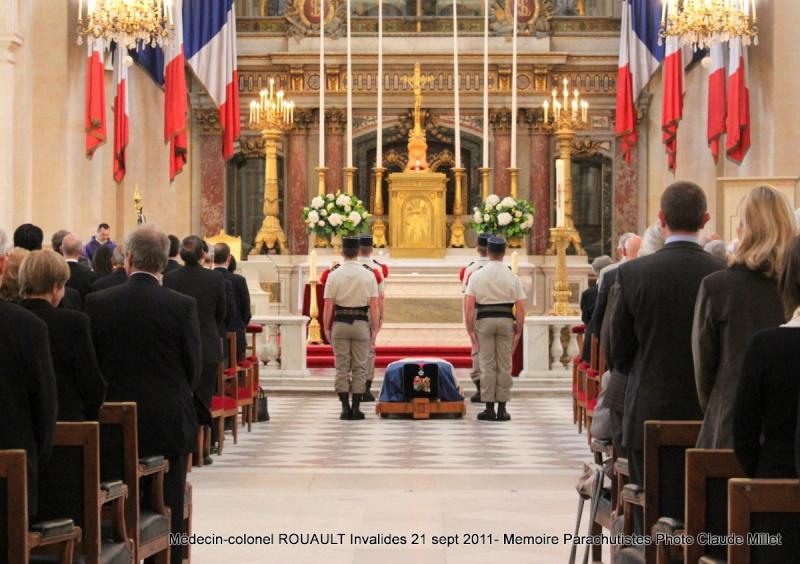 ROUAULT Pierre Médecin-colonel - 5e BPV-8e BPC - 21 septembre 2011 - Invalides cérémonie religieuse Img_0115