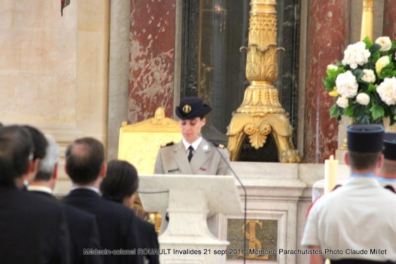 ROUAULT Pierre Médecin-colonel - 5e BPV-8e BPC - 21 septembre 2011 - Invalides cérémonie religieuse Img_0116