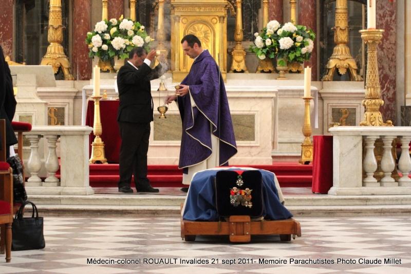 ROUAULT Pierre Médecin-colonel - 5e BPV-8e BPC - 21 septembre 2011 - Invalides cérémonie religieuse Img_0117