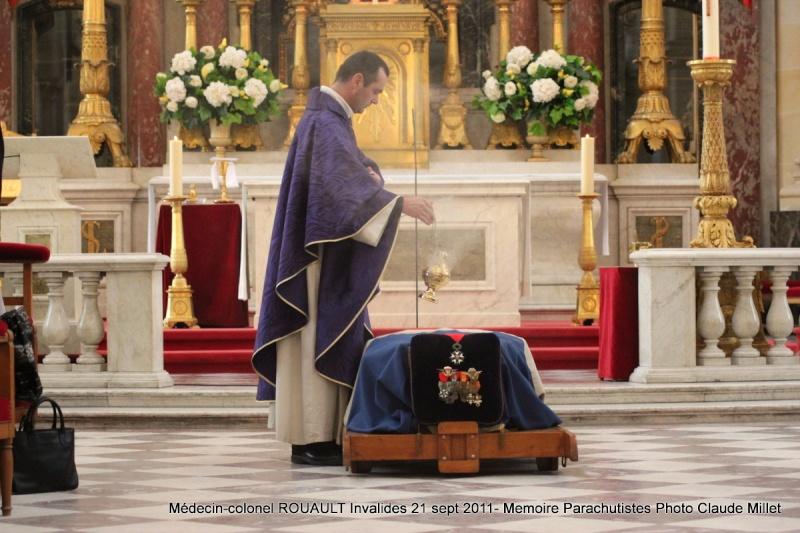 ROUAULT Pierre Médecin-colonel - 5e BPV-8e BPC - 21 septembre 2011 - Invalides cérémonie religieuse Img_0118