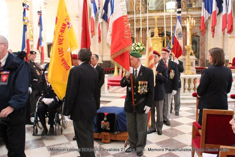 ROUAULT Pierre Médecin-colonel - 5e BPV-8e BPC - 21 septembre 2011 - Invalides cérémonie religieuse Img_0120