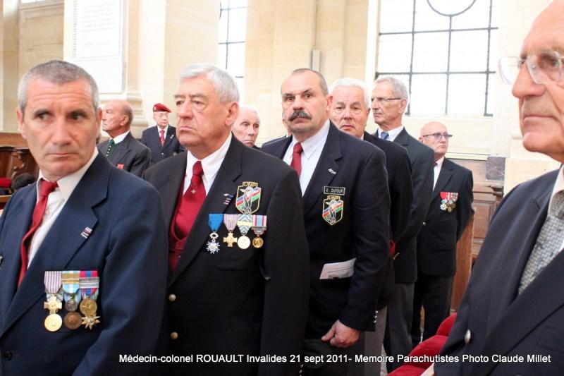 ROUAULT Pierre Médecin-colonel - 5e BPV-8e BPC - 21 septembre 2011 - Invalides cérémonie religieuse Img_0123