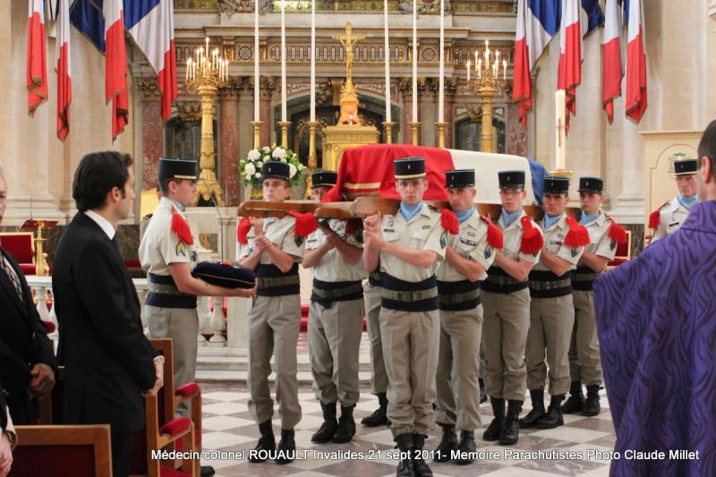 ROUAULT Pierre Médecin-colonel - 5e BPV-8e BPC - 21 septembre 2011 - Invalides cérémonie religieuse Img_0127