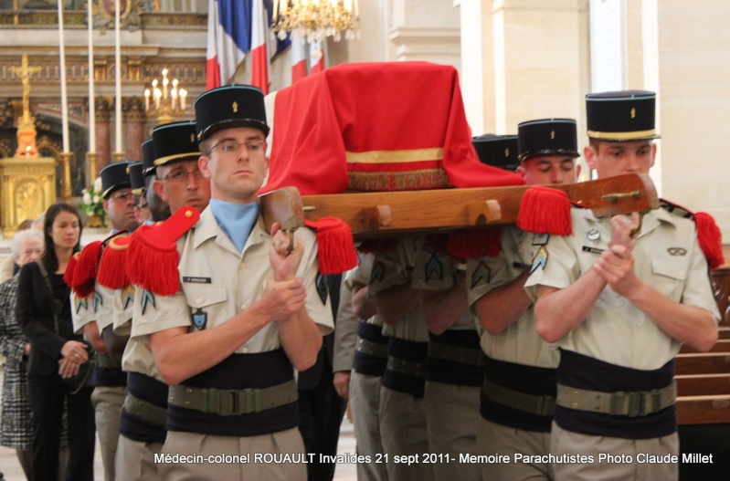 ROUAULT Pierre Médecin-colonel - 5e BPV-8e BPC - 21 septembre 2011 - Invalides cérémonie religieuse Img_0129