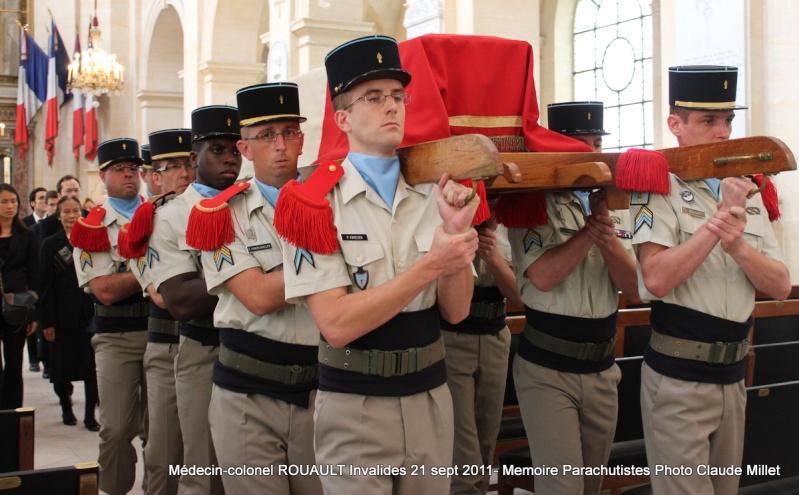 ROUAULT Pierre Médecin-colonel - 5e BPV-8e BPC - 21 septembre 2011 - Invalides cérémonie religieuse Img_0130