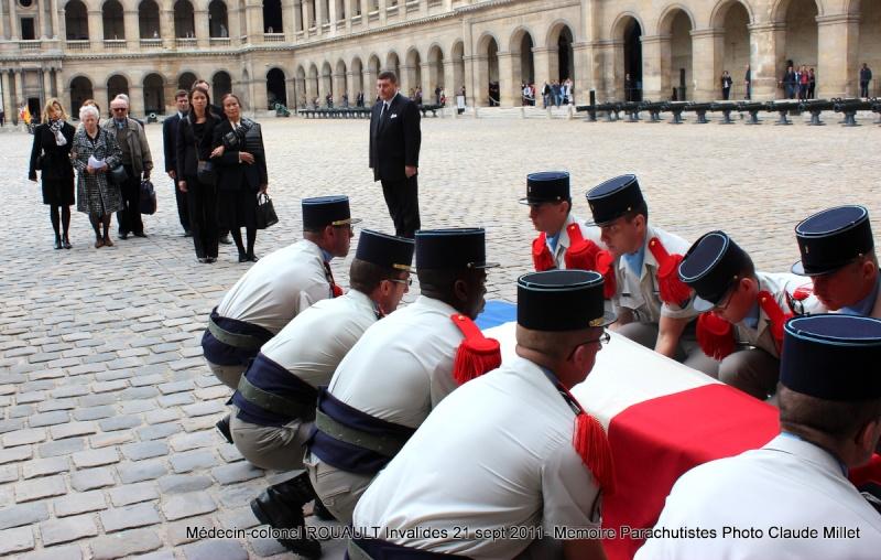 ROUAULT Pierre Médecin-colonel - 5e BPV-8e BPC - 21 septembre 2011 - Invalides cérémonie religieuse Img_0132