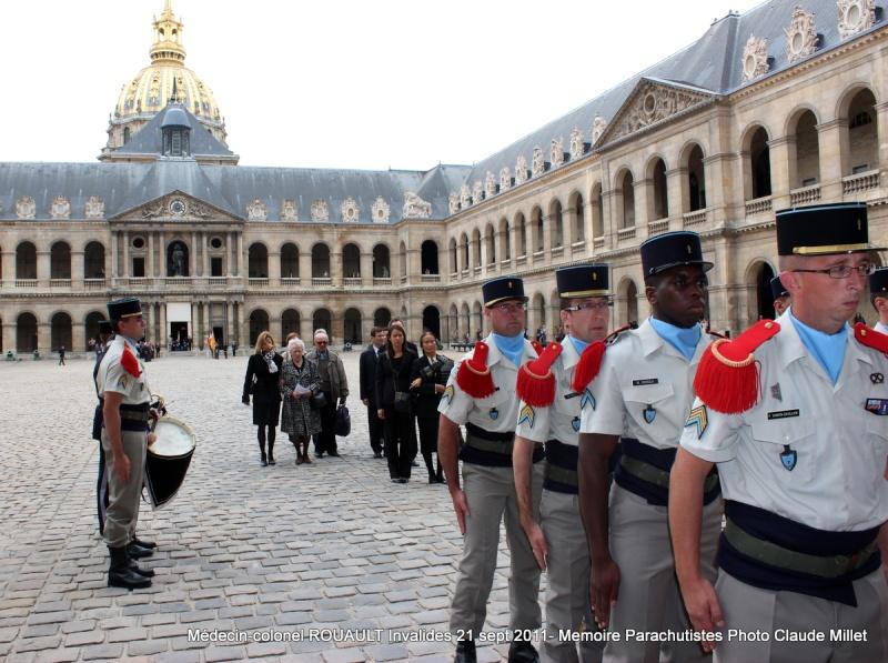 ROUAULT Pierre Médecin-colonel - 5e BPV-8e BPC - 21 septembre 2011 - Invalides cérémonie religieuse Img_0133
