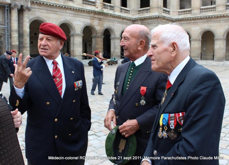 ROUAULT Pierre Médecin-colonel - 5e BPV-8e BPC - 21 septembre 2011 - Invalides cérémonie religieuse Img_0137