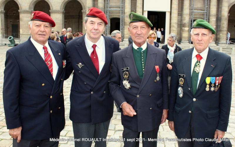 ROUAULT Pierre Médecin-colonel - 5e BPV-8e BPC - 21 septembre 2011 - Invalides cérémonie religieuse Img_0139