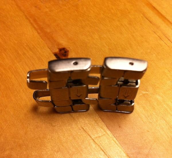 Démontage des maillons du bracelet métallique des Amphibia Photo-28