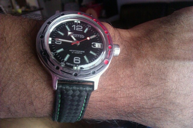 Question cadran Vostok Amphibian Ministry Vostok19
