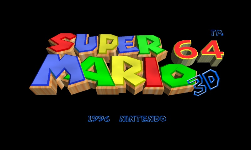 Super Mario 64 project page Logoma10