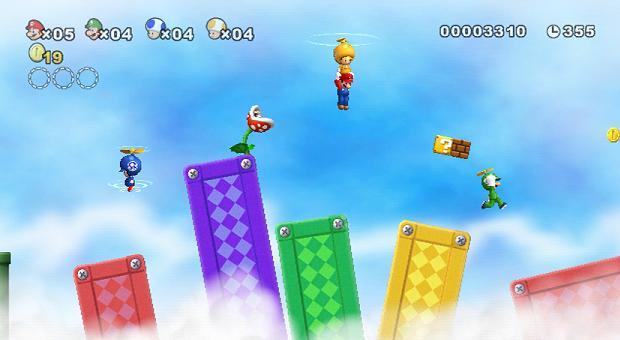 mario - New super mario bros the next level [Wii][Español] 16302410