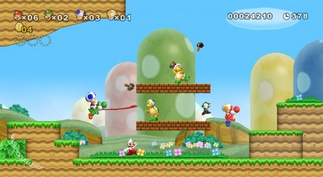 mario - New Super Mario Bros.Wii  [español][389MB] New-su11