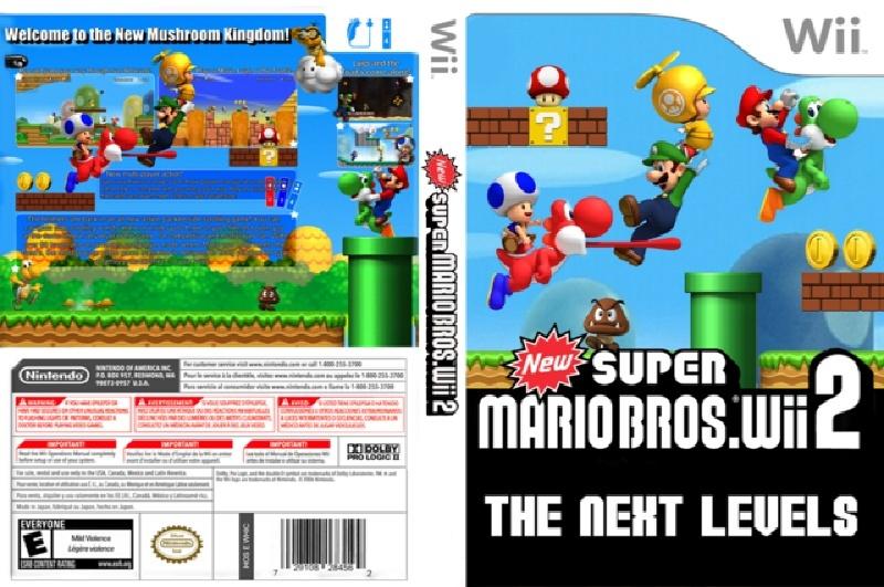 mario - New super mario bros the next level [Wii][Español] Ppne0110