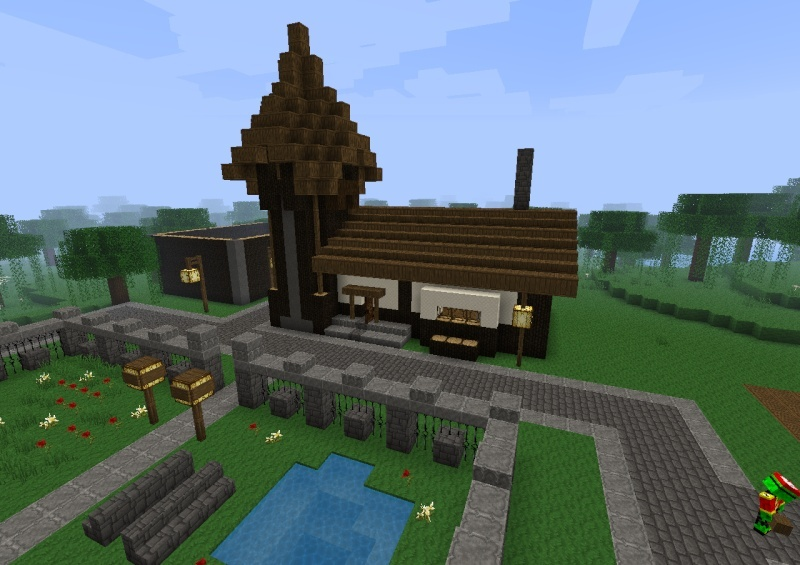 First Settlers Arrive in PlunderCraft! 2011-117