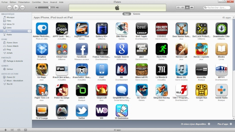Comment Installer une Application avec un fichier .ipa depuis iTunes sans Jailbreak ? Itunes10