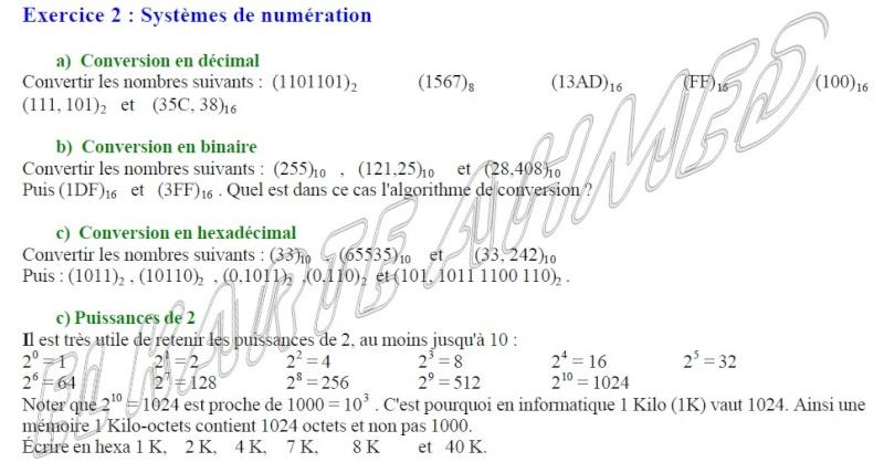 [TS: TDI] notion de math; Exercice de Systèmes de numération - Page 2 Exerci10