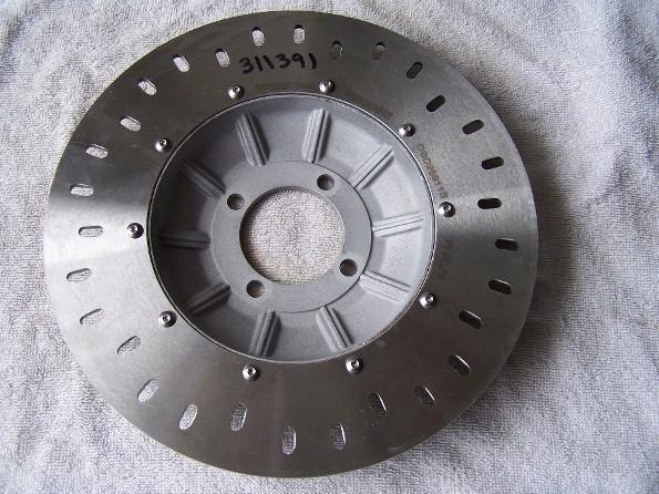 New Brake Discs Front116