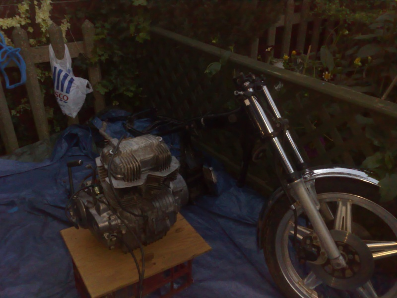 Honda CB400N superdream cafe project, ALL MOST FINISHED, NEW PHOTOS Engine11