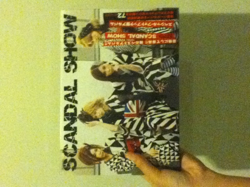 What was the first SCANDAL album you bought? Img_0315