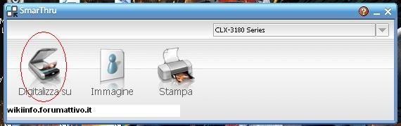 Come fare una scansione con una stampante CLX-3185FW Samsung  Guida211