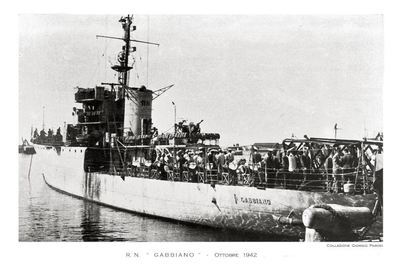 Les corvettes italiennes du type Gabbiano  C11_ga11
