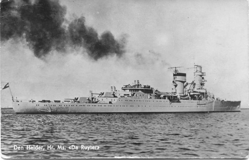 Le croiseur néerlandais De Ruyter (1936-1942) Ruyter10