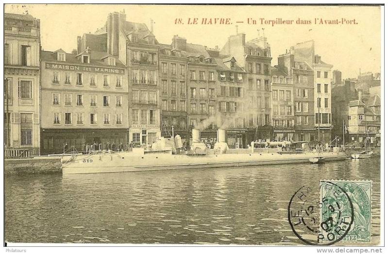 Les Torpilleurs numérotés en France T319_110