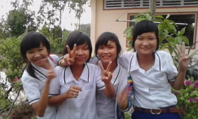 Picture class Eight a One Thanh_14