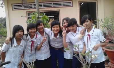 Picture class Eight a One Thanh_15