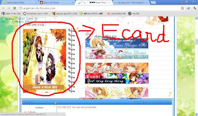 Góp ý cho forum E-card10