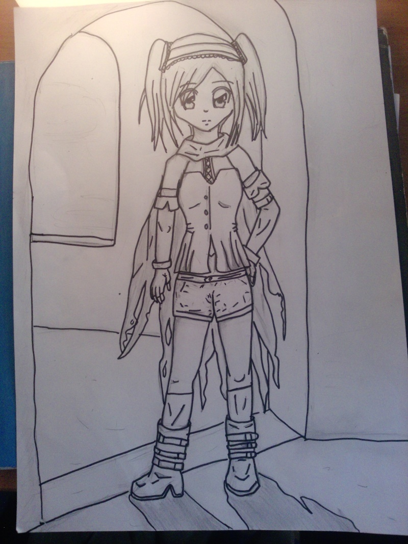 > dessins de Sayu < Fille_10