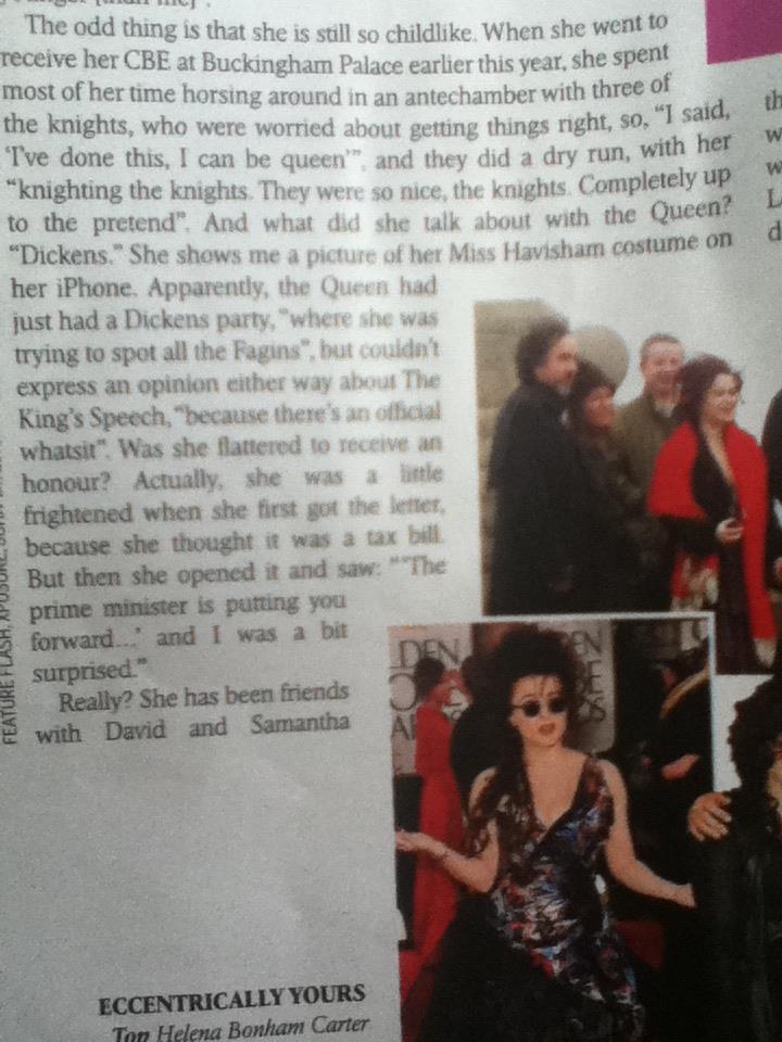 Helena en couverture du magazine Style : 22 Avril 2012 30331310