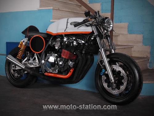 Emporio Elaborazioni transfigure la Yamaha XJR 1200 Empori10