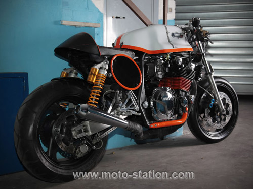 Emporio Elaborazioni transfigure la Yamaha XJR 1200 Empori11