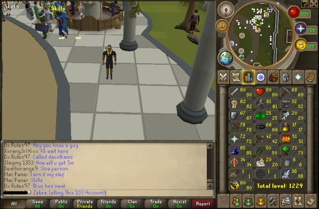 [ Selling 103 ] [ Rapier ] [ 80 Dung ] [ 6 Dragon Defenders ] Stats10