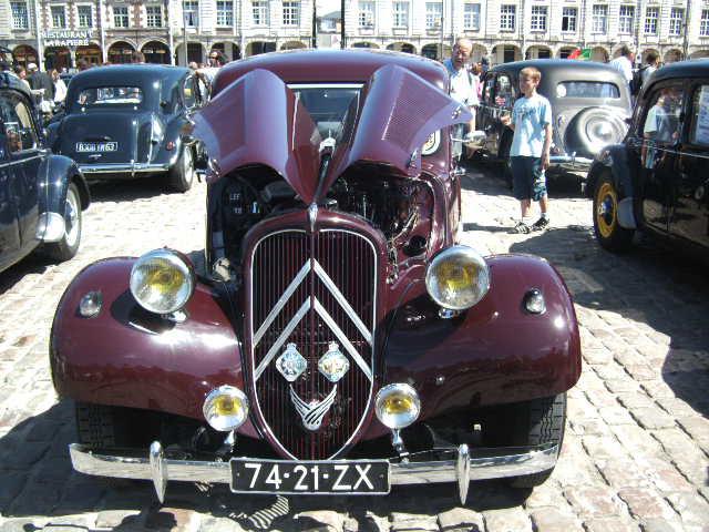 Les 75 ans de la traction avant à Arras Bild0036