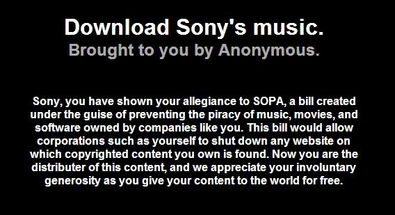MEGAUPLOAD Sony10