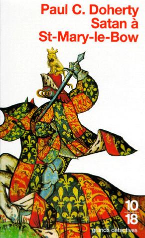 HUGH CORBETT (Tome 1) SATAN À ST-MARY-LE-BOW de Paul C. Doherty Cover40