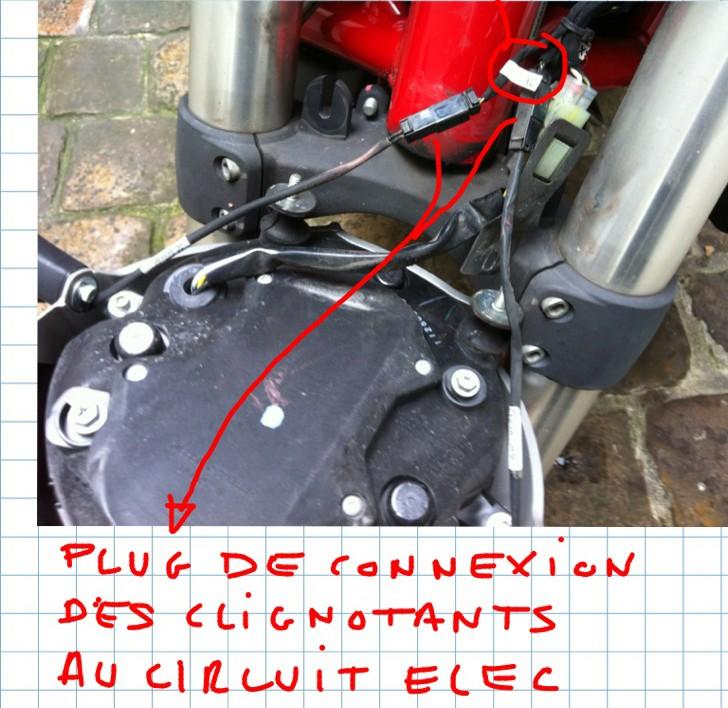 TUTO : Installation de clignotants à led DP sur le phare  D-led-23