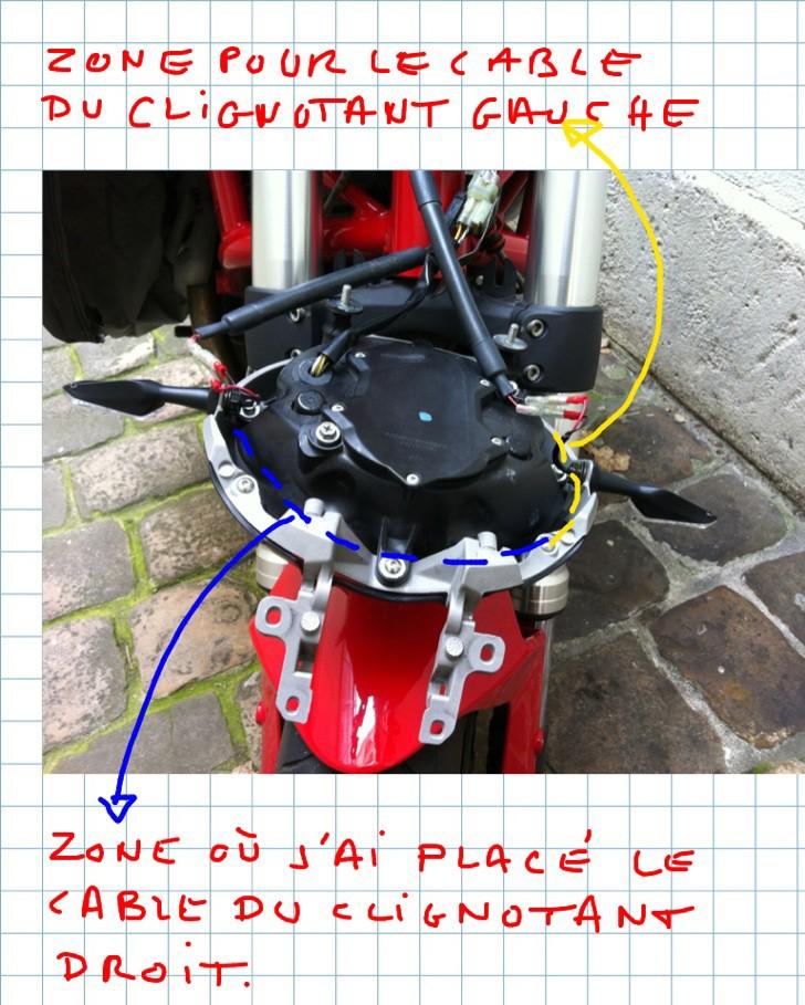 TUTO : Installation de clignotants à led DP sur le phare  D-led-31