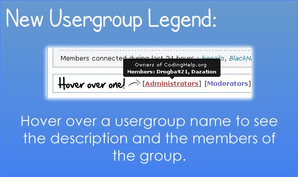 HTML Forum Legend10