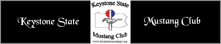 Keystone State Mustangs Forum