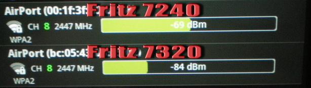 wifi power 7240 vs 7320 7240vs11