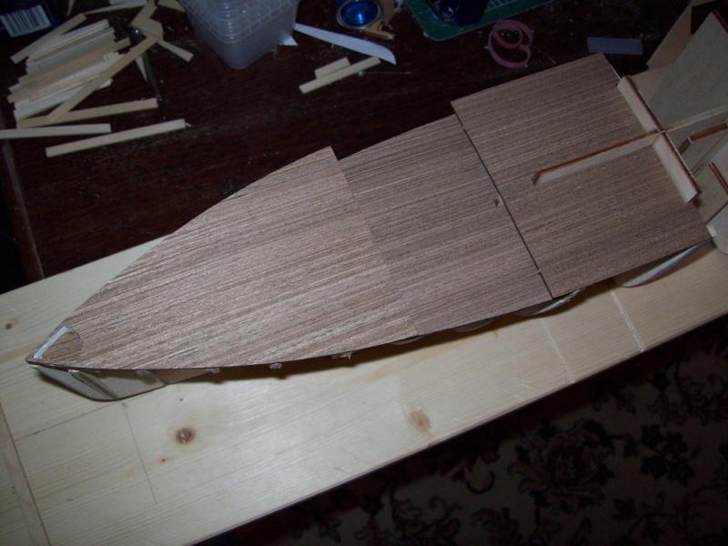 Ponte in legno del Titanic Montag10