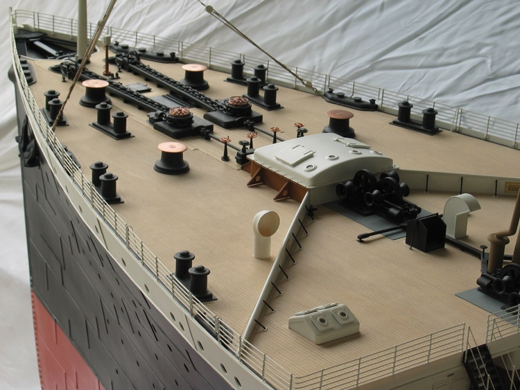 Ponte in legno del Titanic Partic10